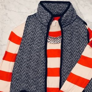 J. Crew Factory Long Sleeve Striped Pullover